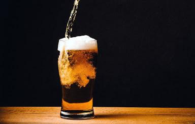 Tiran cerveza